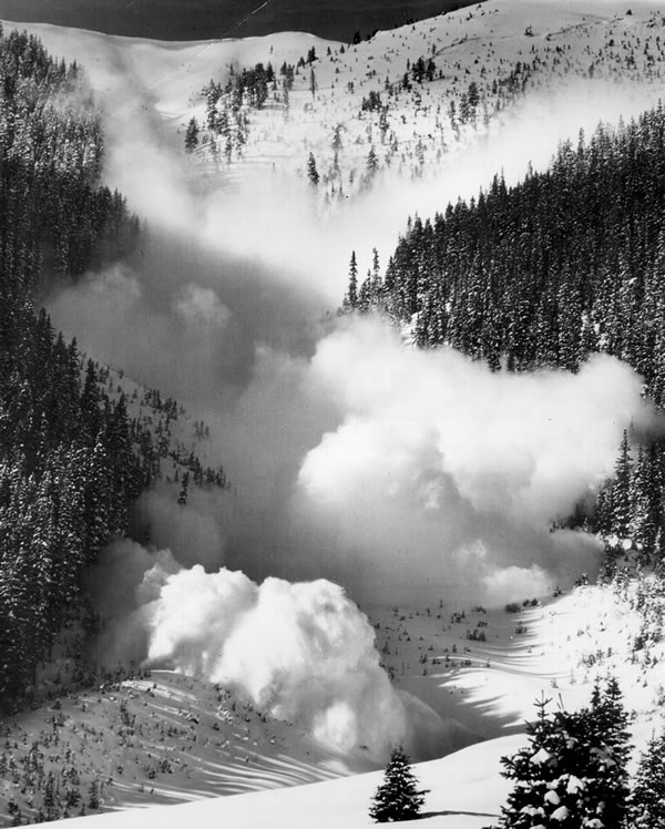 Avalanche: Mental practice (mental imagery) can help one prepare if ever caught in an avalanche