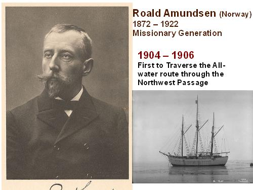 Amundsen and the Northwest Passage