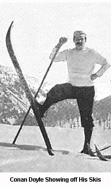 Conan Doyle on Skis