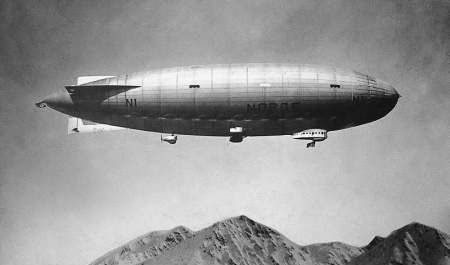 Amundsen's & Nobile's Dirigible
