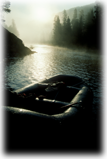 Morning Mist on a River Trip