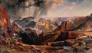Thomas Moran: The Chasm of the Colorado