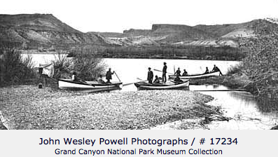 Powell Lanching Boats - Second Journey
